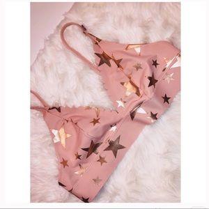 PINK Victoria's Secret Rose Gold Bralette✨SMALL